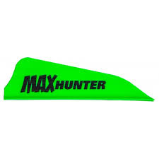AAE MAX HUNTER VANES 2.1IN BRIGHT GREEN 6PKT