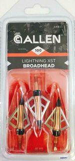 ALLEN LIGHTNING XST 3 BLADE BROADHEAD 100GR 3PKT