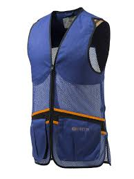 BERETTA FULL MESH VEST BLUE LARGE