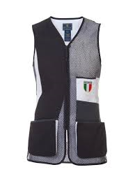 BERETTA UNIFORM SHOOTING VEST ITA NAVY AND WHITE