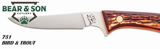 BEAR AND SON 6 1/2INCH BIRD & TROUT KNIFE