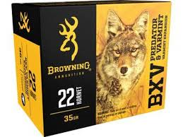 BROWNING BXV 22HORNET 35G VE