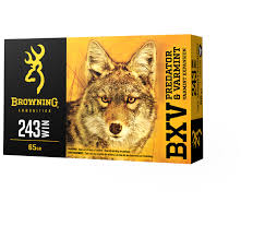 BROWNING BXV 243WIN 65G VE 20PK