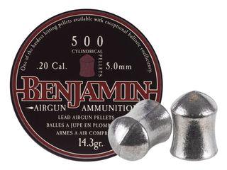 BENJAMIN 20CAL HUNTING PELETTS 500PK