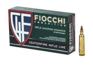 FIOCCHI SHOOTING DYNAMICS 22-250REM 55GR PSP