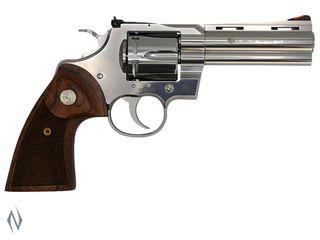 COLT PYTHON STAINLESS 357MAGNUM 107MM 6 SHOT REVOLVER