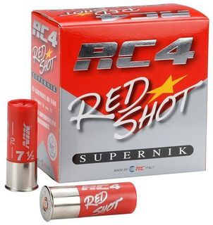 RC4 RED SHOT 1350FPS 24GR 7.5 25PKT