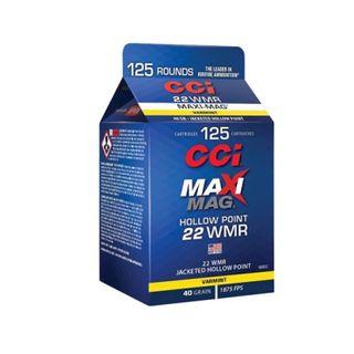 CCI 22WMR MAXI MAG 40G HP 125PK POUR PACK 1875FPS