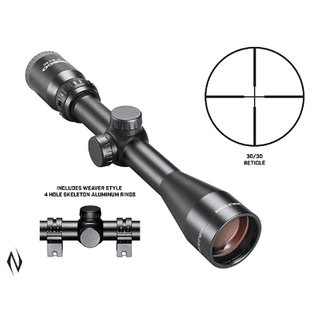 TASCO WORLD CLASS 3-9X40 30/30 SCOPE AND RINGS