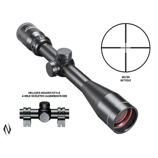 TASCO WORLD CLASS 4-12X40 30/30 SCOPE WITH RINGS