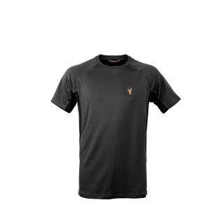 HUNTERS ELEMENT ECLIPSE TEE BLACK