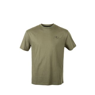 HUNTERS ELEMENT BULL TAHR TEE KHAKI