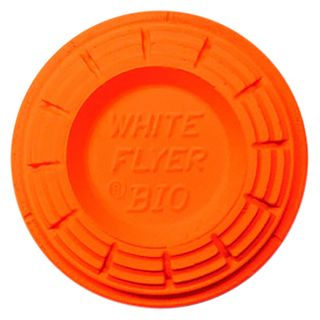 WHITE FLYER ORANGE BLACK OUT NORMAL CLAY TARGETS (135)