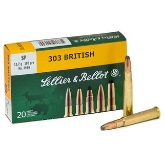 SELLIER AND BELLOT 303 BRITISH 180gr SP