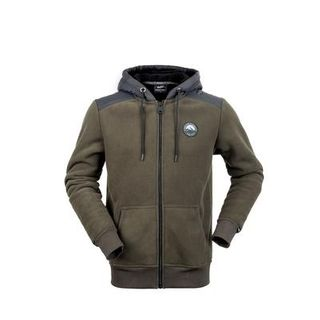 HUNTERS ELEMENT RETRO HOODIE BUSH GREEN