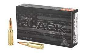 HORNADY 6.5 GRENDEL 123G ELD MATCH BLACK AMMO 20PK