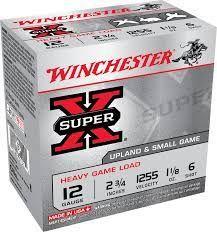 WINCHESTER SUPER X 12G 2 3/4 32G 6SHOT 25PKT