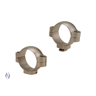 LEUPOLD STD RINGS 30MM MED SILVER