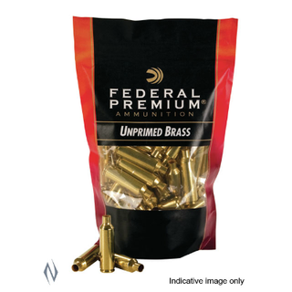 FEDERAL UNPRIMED BRASS CASES 243 WIN 50PK