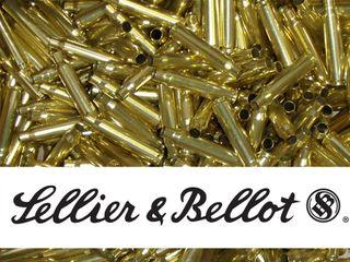 SELLIER & BELLOT 6.5X55 UNPRIMED BRASS CASES 20PK