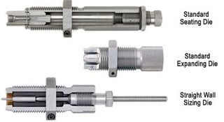 HORNADY SERIES II 3 DIE SET 444 MARLIN