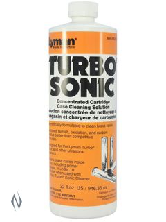 LYMAN TURBO SONIC CASE CLEANING SOLUTION 32OZ