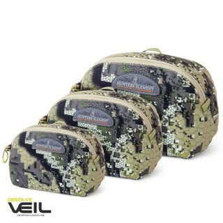 HUNTERS ELEMENT EDGE POUCH SIZE LARGE 1.75L VEIL CAMO