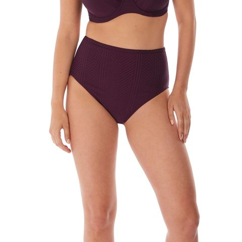 Fantasie Long Island High Waist Brief - Vino