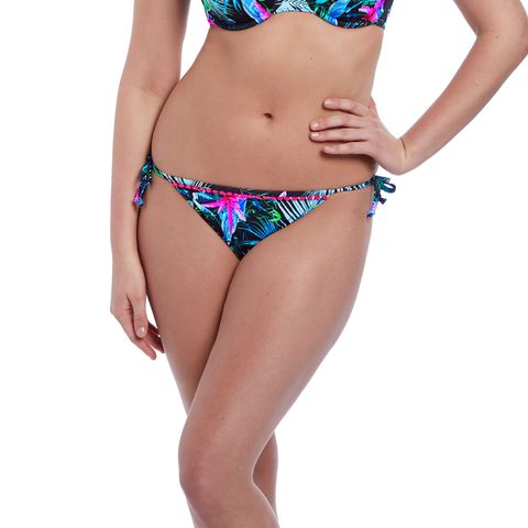 Freya Jungle Flower Tie Side Brief
