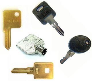 Motorhome & Caravan Keys