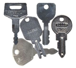 Equipment / Utility Keys