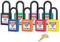 Master 0406 Zenex Safety Padlock U/Reg Green