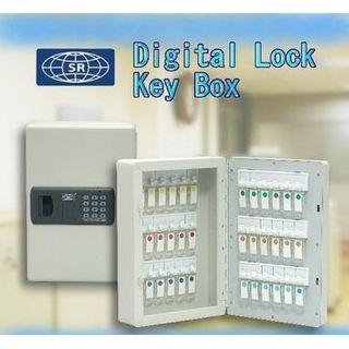 SR Electronic Digital Key Cabinet - 36 Keys