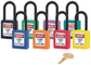 Master 0406 Zenex Safety Padlock U/Reg Red
