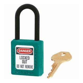 Master 0406 Zenex Safety Padlock U/Reg Teal