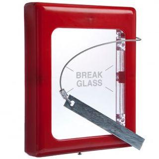 STI Break Glass Keybox Lge 4100
