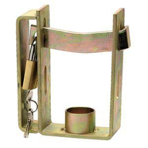Carbine Trailsafe Trailer Lock Steel