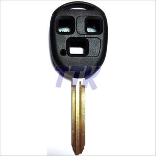 Toyota TOY43 Key 3 Button Shell H/Duty