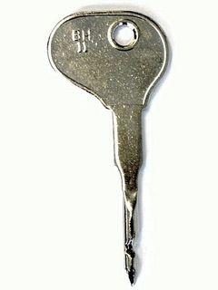 Silca BH11 Key Precut