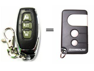 B&D 3 Button Aftermarket Remote 433Mhz