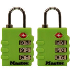 Master 4684 TSA Combination Padlock - 2 Pack