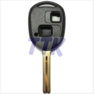 Toyota TOY48 Key 2 Button Shell H/Duty Uncut