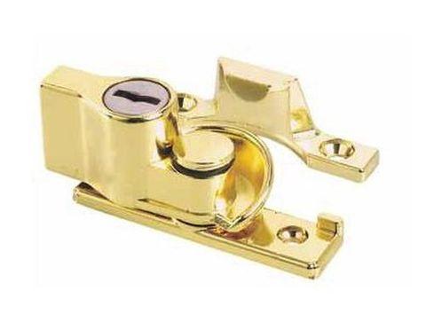 Whitco Keyed Sash Lock - PB