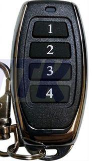ATA PTX-5/Tri Tan 4 Button Aftermarket Remote 433