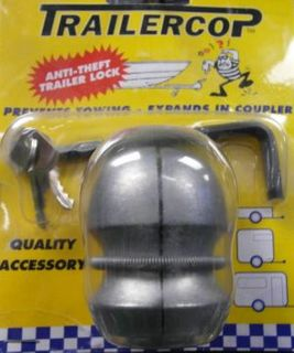 Trailer Cop Coupling Lock 1 7/8