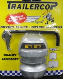 Trailer Cop Coupling Lock 50mm