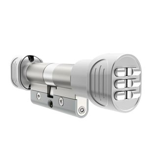 Doric EPEC Electronic Pin Euro 62mm - Silver