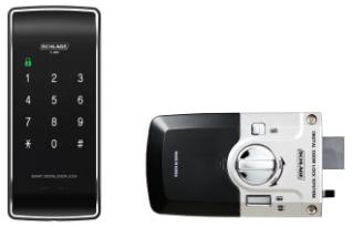 Schlage S-480 Touchpad Rim Lock