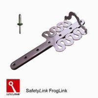 FrogLink Metal Roof Anchor Point + Aluminium Rivets
