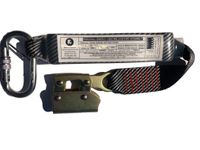 Ferno 300mm shock pack with karabiners and 11mm Rope Grab.